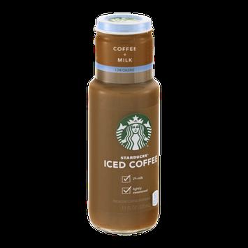 Starbucks Iced Coffee Coffee+Milk Low Calorie