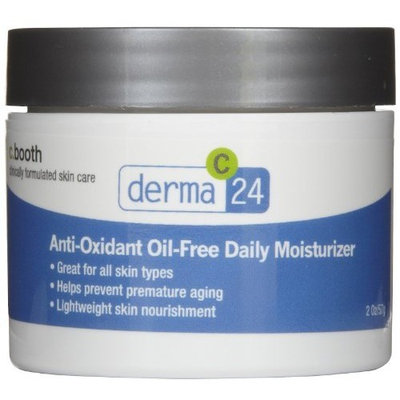 C. Booth Derma 24 Daily Moisturizer, Anti-Oxidant Oil-Free 2 oz (57 g)