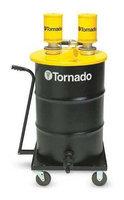 TORNADO 95961 Pneumatic Vacuum Cleaner,16 cfm,25 HP