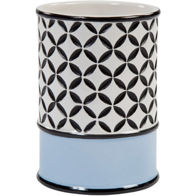 Creative Bath Madrid Tumbler - Blue/Black