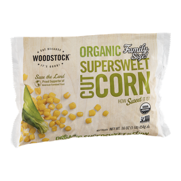 Woodstock Supersweet Cut Corn Organic