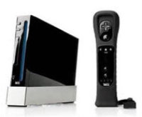 Nintendo Wii System with Motion Plus - Black