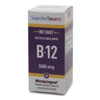 Superior Source No Shot Methylcobalamin B12 5000mcg