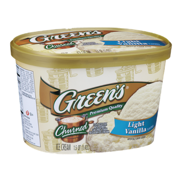 Green's Churned Ice Cream Light Vanilla