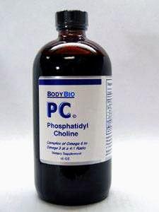 BodyBio PC Liquid Phosphatidylcholine 16 fl oz