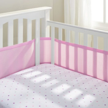 BreathableBaby Breathable mesh crib liner by Breathable Baby Fresh Bloom