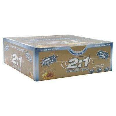 2 1 Protein Bar 2:1 Protein Bar Protein Bar Granols Oatmeal 12 Bars
