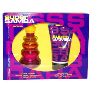 Women's Super Samba by Perfumer's Workshop - 2 Piece Gift Set
