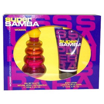 Women's Super Samba by Perfumer's Workshop - 2 Piece Gift Set