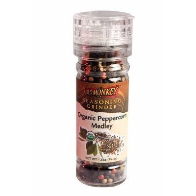 Red Monkey Foods 4 Color Peppercorn Grinder, 1.6-Ounce Bottles (Pack of 6)