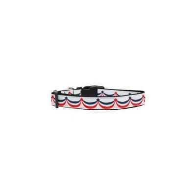 Ahi American Swag Nylon Dog Collar Large