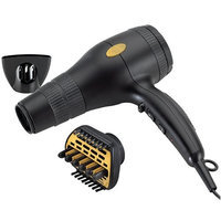 Gold N' Hot Gold N Hot GH2240 Professional 1875 Watt Ionic Hair Dryer with Duetto Styler Ceramic Attachment