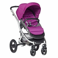 Britax Affinity Complete Stroller, Cool Berry, Silver, 1 ea