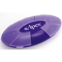 Apex Healthcare Products Purple Weekly Pill Turtle XL