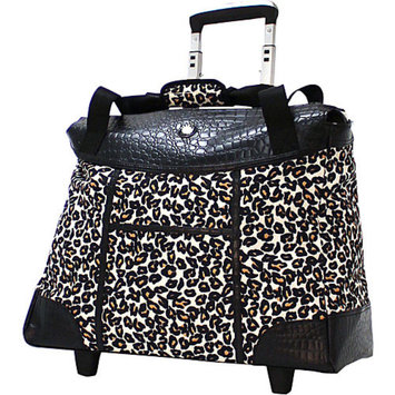Nestlé Olympia Deluxe Fashion Rolling Laptop Tote
