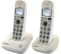 Clarity D702 + (1) D702HS D702 Amplified Low Vision Cordless Phone