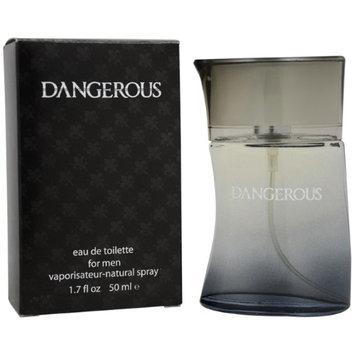 Dangerous Perfumes Dangerous by Sammi Sweetheart for Men - 1.7 oz EDT Spray