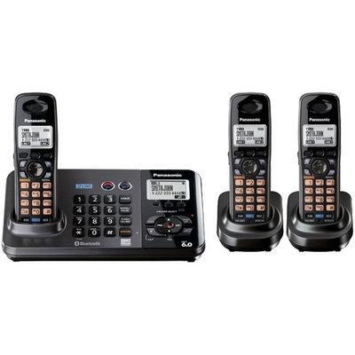 Panasonic KX-TG9382T + (1) KX-TGA939 2-Line DECT 6.0 Cordless Phone w/