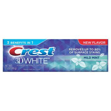 Crest 3D White Mild Mint Toothpaste