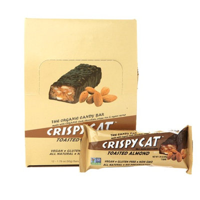 NuGo Crispy Cat Organic Candy Bars