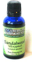 Sandalwood Essential Oil No Chinese Ingredients American Supplements 1 oz Oil