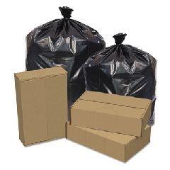 Pitt Plastics 43X47 REPRO LINER, X-HVY, 1.2GA, 56 gal, BLACK, 100 BAGS/CASE