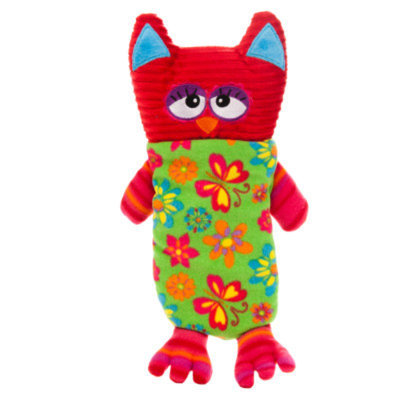 Toys R Us Owl Squeaker Mat Dog Toy