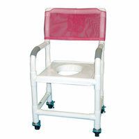 MJM International Bundle-02  Standard Deluxe Shower Chair with Clamp On Seat