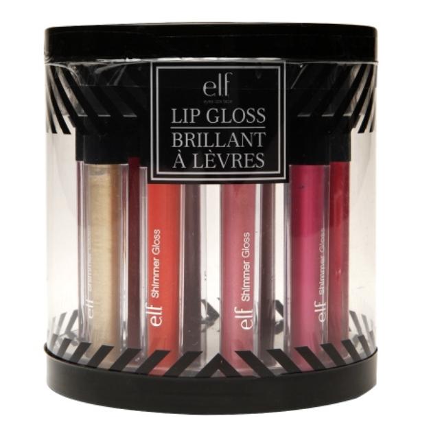 e.l.f. Ten Piece Lip Gloss Cylinder