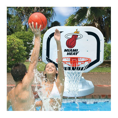 Poolmaster NBA Poolside Basketball Game - Miami Heat