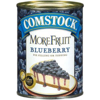 Comstock More Fruit Premium Blueberry Pie Filling or Topping 21-oz.