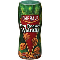 Emerald Nuts Dry Roasted Walnuts, 9-Ounce Canisters (Pack of 6)