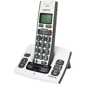 Clarity 50615 Dect 6.0 Cordless Amplified Phone Power Call Waiting