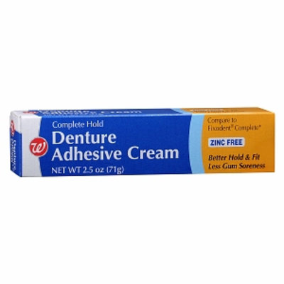 Walgreens Denture Adhesive Complete