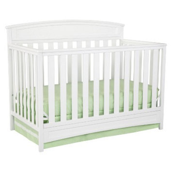 Delta Children s Sutton 4-in-1 Convertible Crib - White