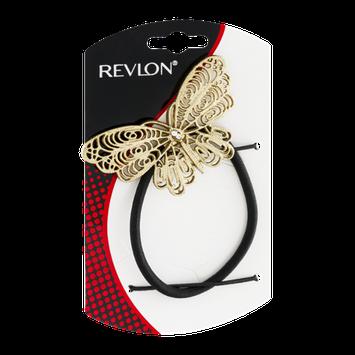Revlon Antique Gold Butterfly Ponytail Holder