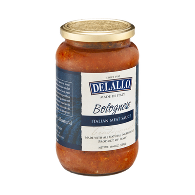 Delallo Meat Sauce Italian Bolognese