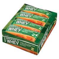 Country Life 100% Greens and Whey Protein Bars Natural Peanut Butter