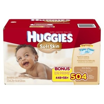 Huggies Soft Skin Baby Wipes Refill