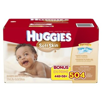 Huggies Soft Skin Baby Wipes Refill