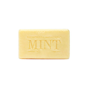 Archipelago Botanicals Morning Mint Soap Bar