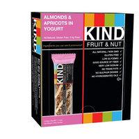 Kind Almonds & Apricots in Yogurt Fruit & Nut Bar, 1.4 oz, (Pack of 12)