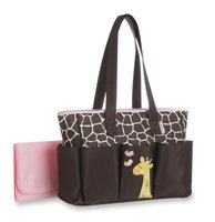 Baby Boom Diaper Bag & Changing Pad Giraffe - STEVENS BABY BOOM LTD.