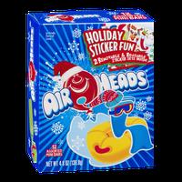 AirHeads Assorted Mini Bars Holiday Sticker Fun - 12 CT