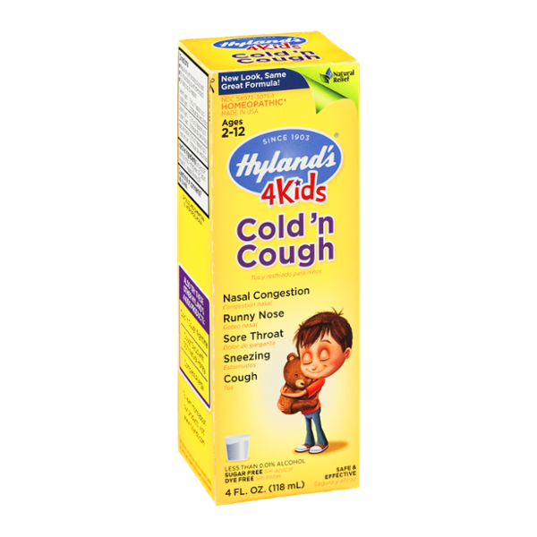 Hyland's 4 Kids Cold 'n Cough Ages 2 -12