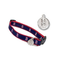 Sporty K9 Boston Red Sox Dog Collar, Small