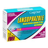 CareOne Lansoprazole Acid Reducer Delayed Release Capsules 15 mg - 28 CT