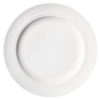 Threshold™ Round Beaded Salad Plate Set of 4 - White