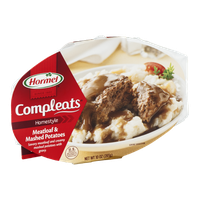 Hormel Compleats Homestyle Meatloaf & Mashed Potatoes