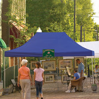 Shelter Logic 10x15 Truss Pro Pop-up Canopy Blue Cover